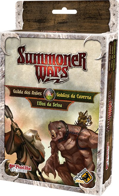 Summoner Wars: Guilda dos Anões Vs Goblins da Caverna Vs Elfos da Selva