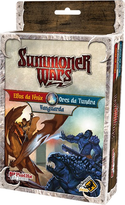 Summoner Wars: Elfos da Fênix Vs Orcs da Tundra Vs Vanguarda