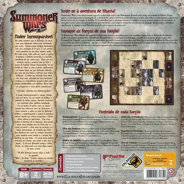 Summoner Wars - Master Set - comprar online