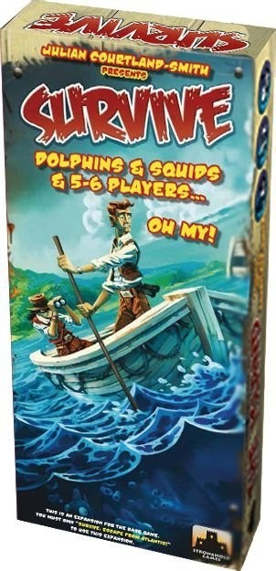 SURVIVE: DOLPHINS & SQUIDS & 5-6 PLAYERS… OH MY!
