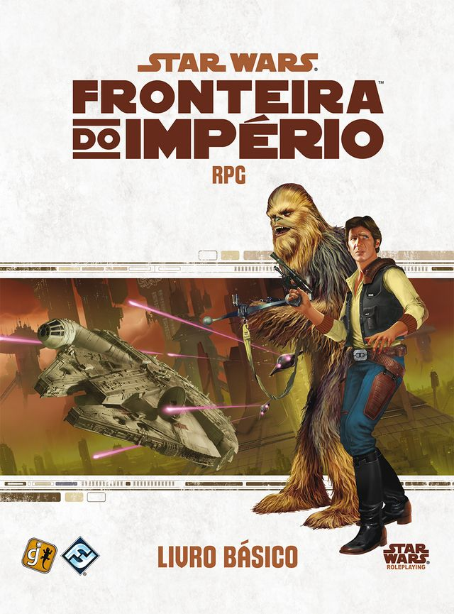 Star Wars RPG - Fronteira do Imperio: Livro Basico na internet