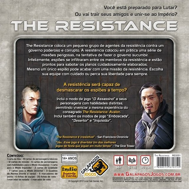 The Resistance na internet