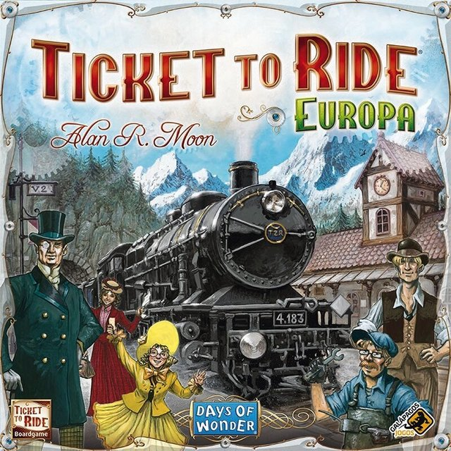 Ticket to Ride Europa na internet