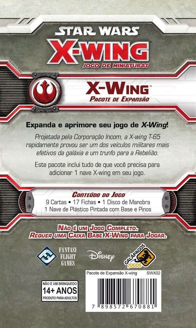 X-Wing - Expansao, Star Wars X-Wing - comprar online