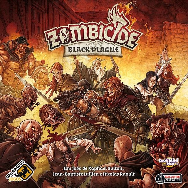 Zombicide Black Plague na internet