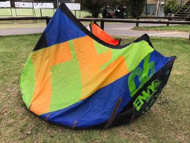 Envy Liquidforce 6mts 2013, sin reparaciones, muy bueno, cod 608 - Second Wind Kite Shop