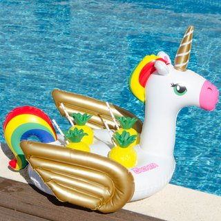 Multi Drink Float Unicornio + Mochila