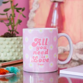Taza Porcelana All you need