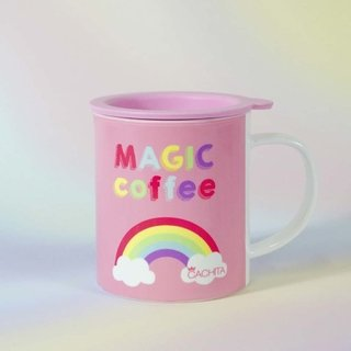 Taza Pink Magic Coffee