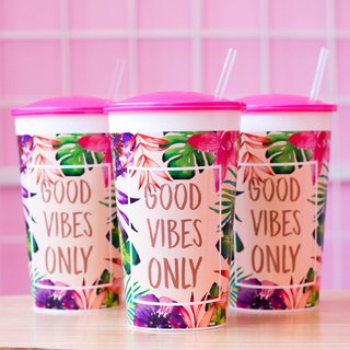 Vasos Summer Good Vibes x 6