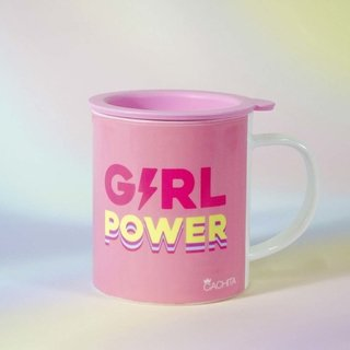 Taza Pink Girl PWR