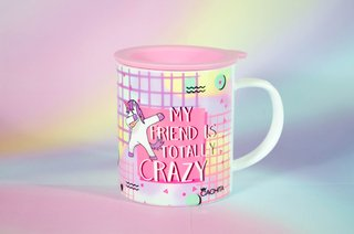 Taza Térmica CRAZY FRIEND