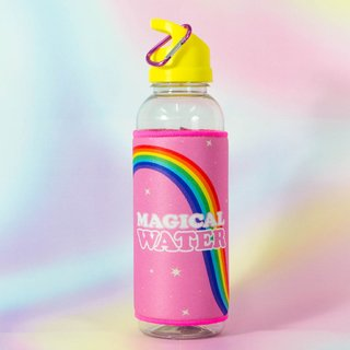 Botella Sport + Funda Magical Water 3 unidades