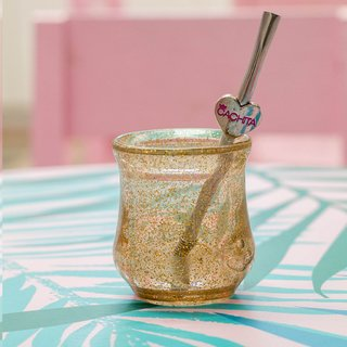 Mate Glitter FAN Gold