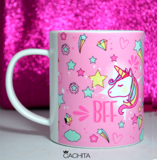 Taza BFF Unicorn