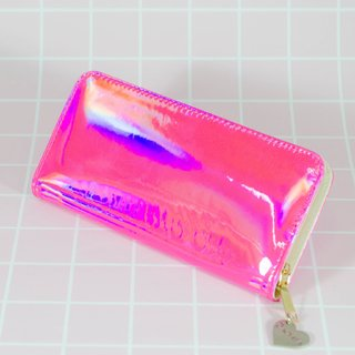 Billetera Hologram Pink