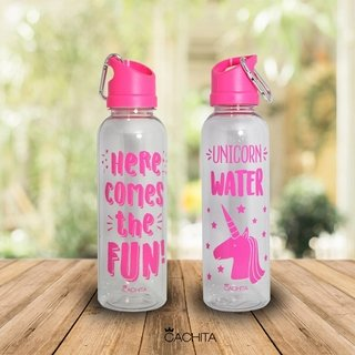 Botellas Cachita Spor (4 u Pink)