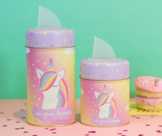 Set de latas unicorn dreams