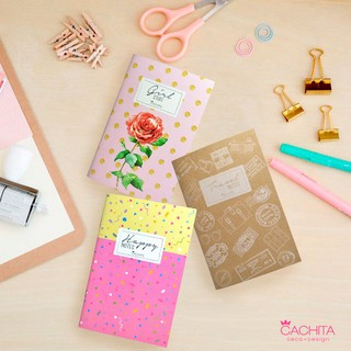 Libretas Set Girls x 3 unidades