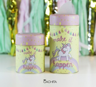 Set de latas Make it happen