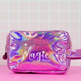 50% OFF Neceser Magic Hologram Lila