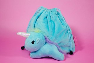Travel Bag Unicorn Blue