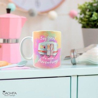 Taza Porcelana Adventure