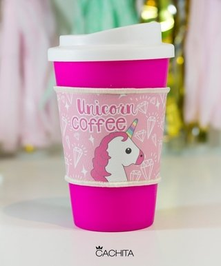 Vaso Térmico con grip Unicorn Coffee