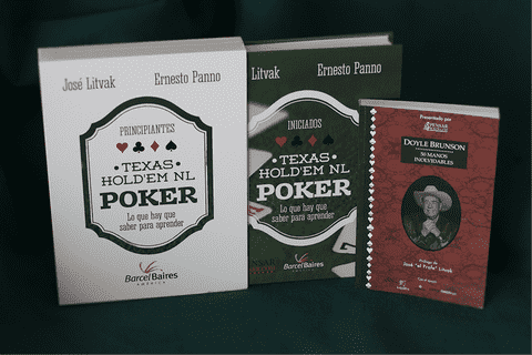 Texas Hold'em Poker - Edición de Lujo + 50 Manos Inolvidables de Doyle Brunson + Texas Hold'em Poker (idem al principal) en e-book