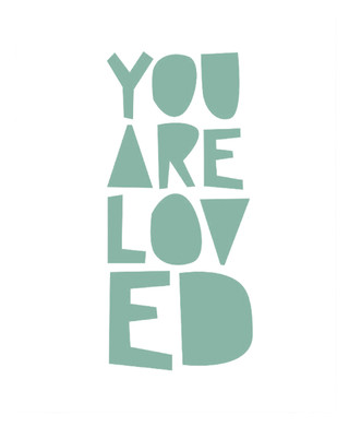 Cuadro you are loved - comprar online