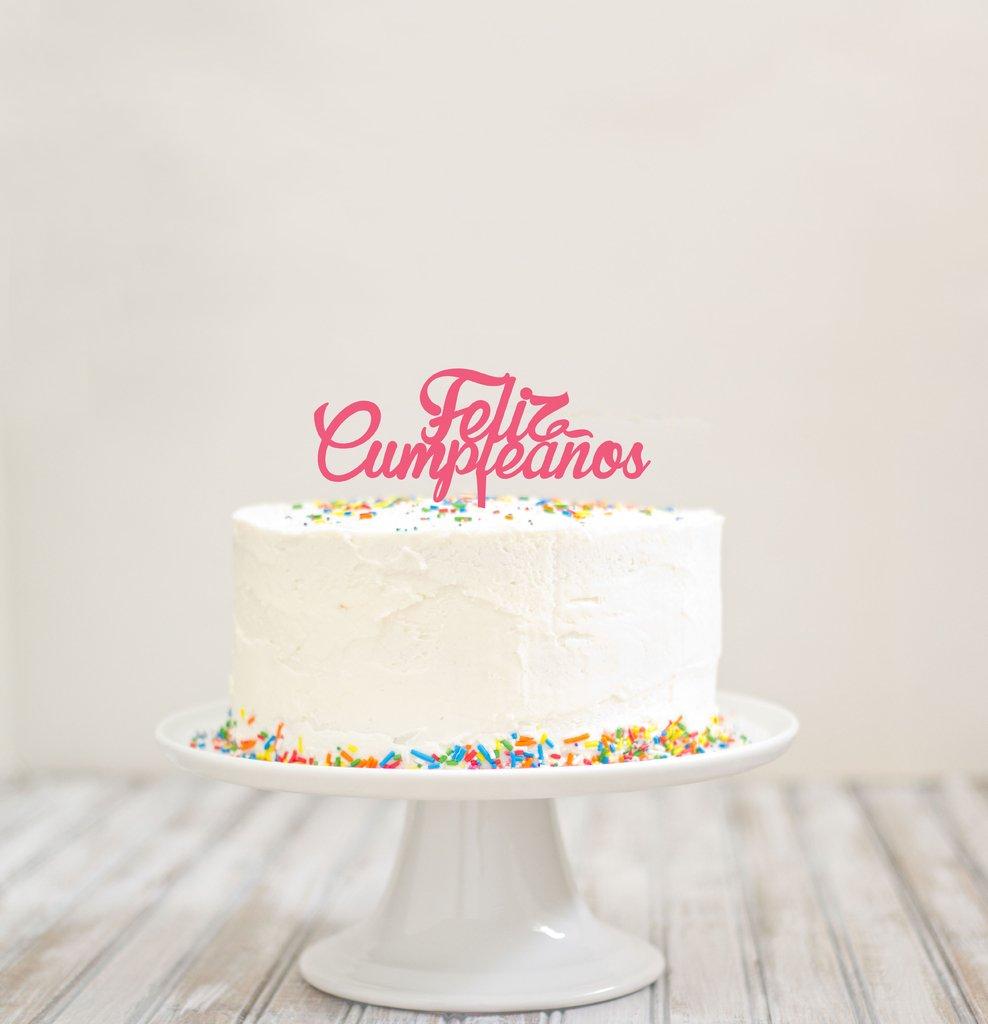 topper para torta feliz cumplea os letra cursiva On letras para decorar feliz cumpleanos