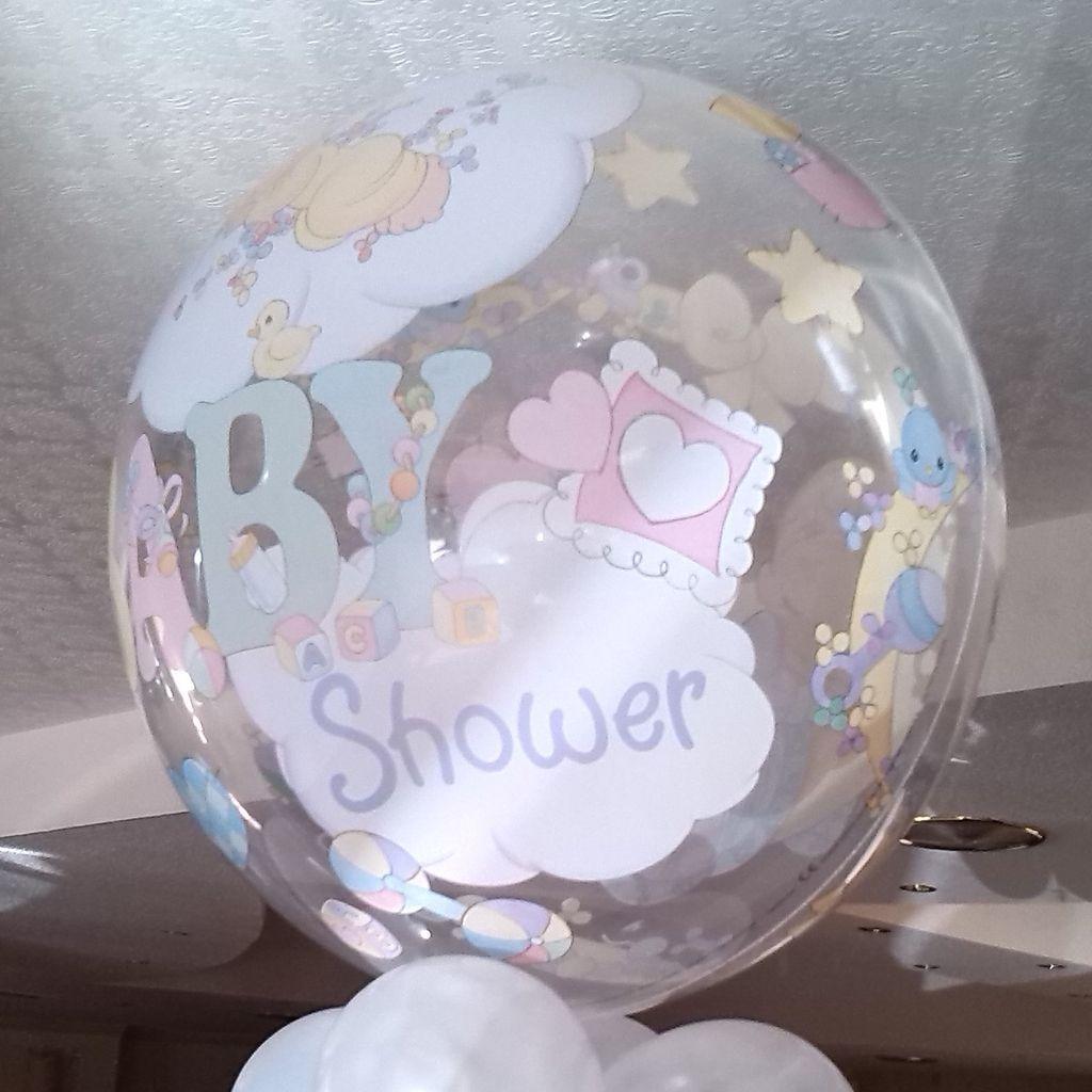 Ohlalá Celebraciones Globo Burbuja Baby Shower Para Niño O Niña. 56 Cms.    Tienda Online