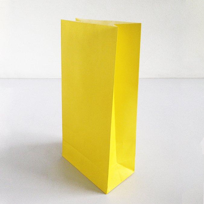 6c5507cde Bolsas de Papel para Sorpresas - Amarillas.