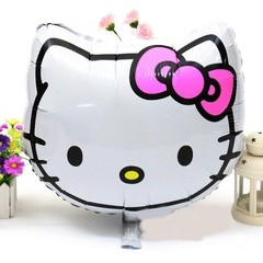 Globo Metalizado Personaje Hello Kitty. 50 cms.