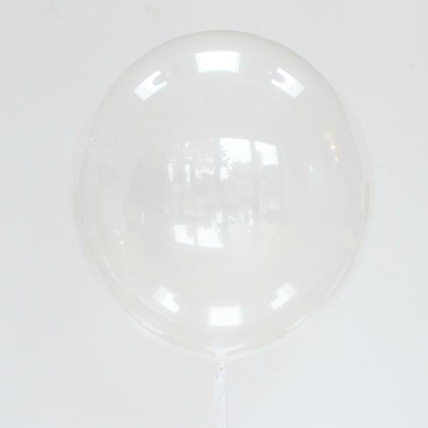 Deco Burbuja Transparente marca Qualatex. 61 cms.