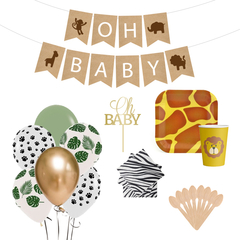 Kit de Baby Shower Safari