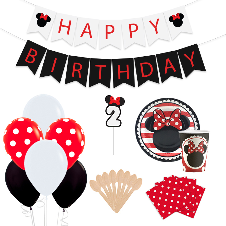 Kit de Fiesta Minnie Clásica
