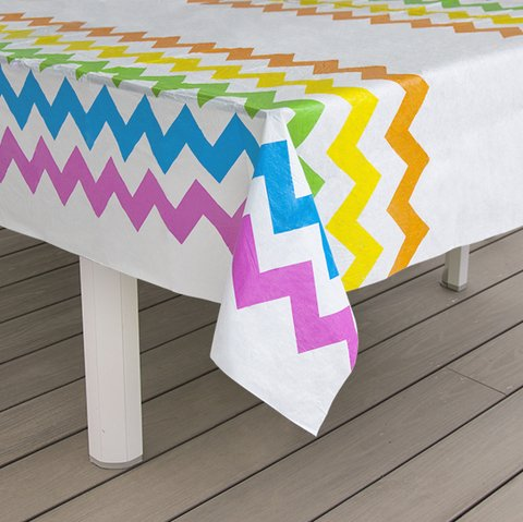 Mantel de Peva Chevron Multicolor