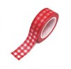 Washi Tape Mantel Picnic Rojo