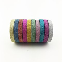 Washi Tape Glitter Set x 10 Rollos