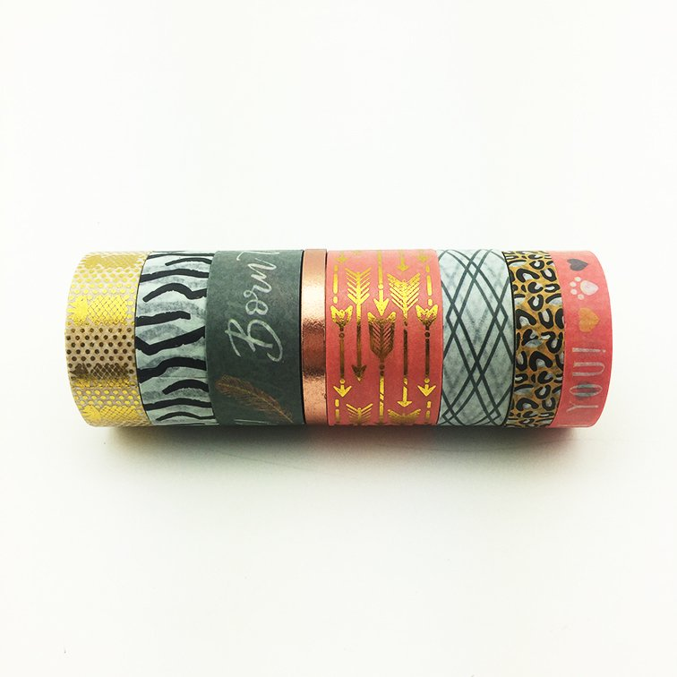 Washi Tape Born to be Wild Set x 8 Rollos