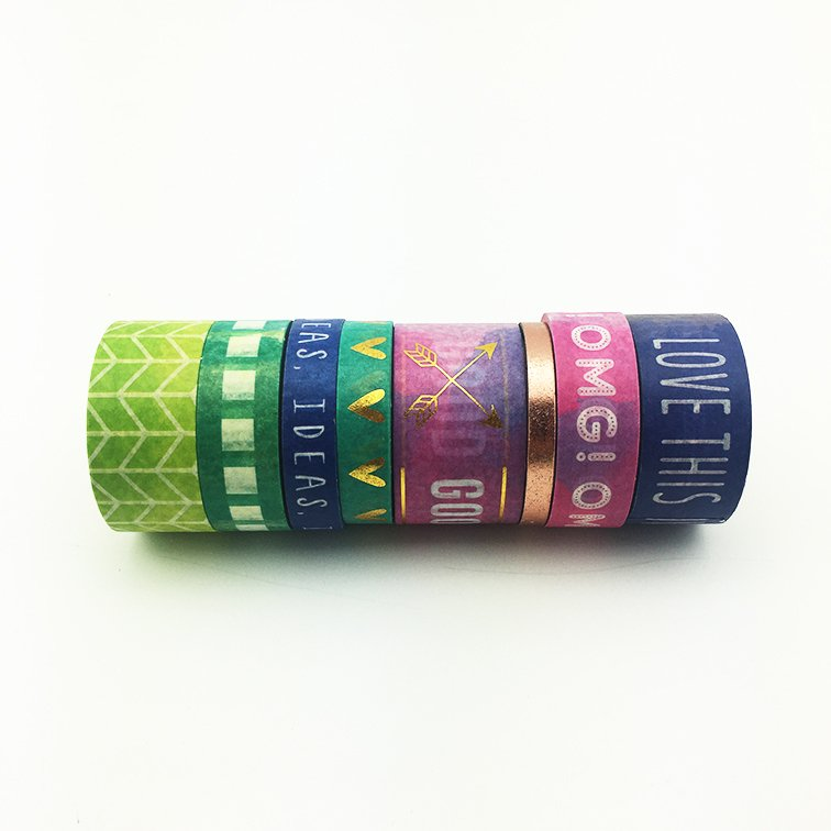 Washi Tape GoodVibes Set x 8 Rollos