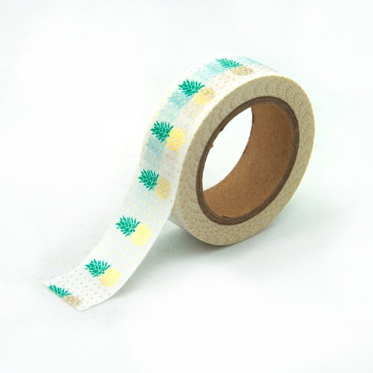 Washi Tape Piñas Metalizadas