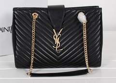 Bolsa Classic Monogramme Shopping Bag Saint Laurent