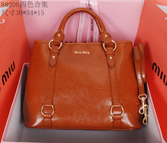 Bolsa 304417 Top Handle Tote Miu Miu