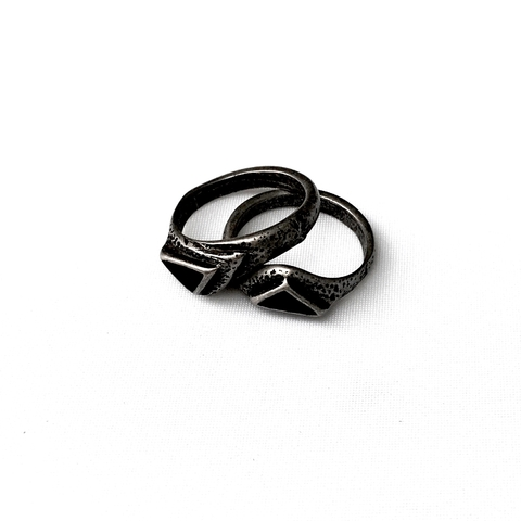 ANILLO COLOUR RING NEGRO