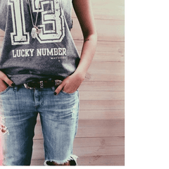 MUSCULOSA LUCKY NUMBER