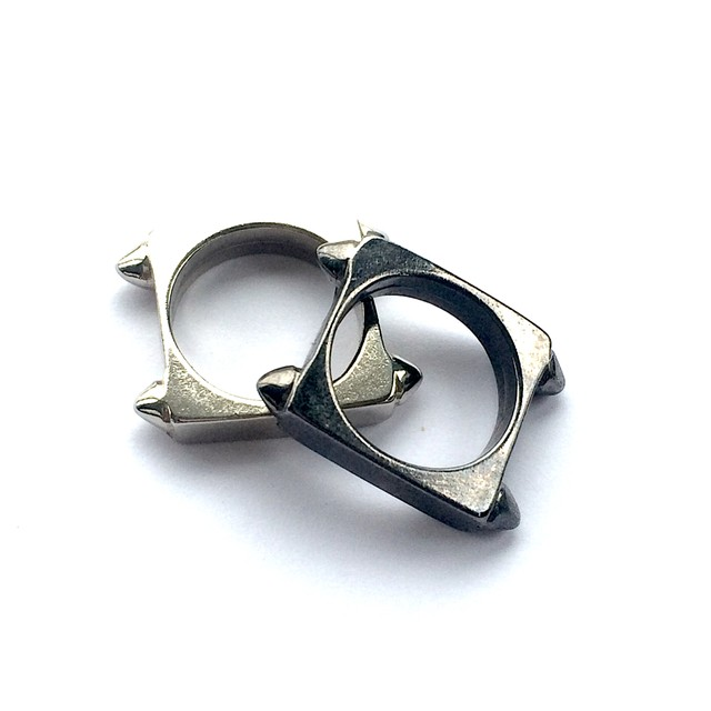 ANILLO DOBLE SQUARE