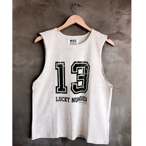 MUSCULOSA 13 LUCKY NUMBER