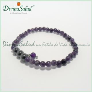 Pulsera Shamballa Exclusiva - Amatista Mini